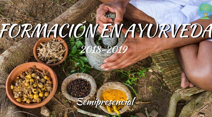 CURSO DE FORMACIÓN EN AYURVEDA 2018-2019
