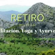 Retiro Meditación, Yoga y Ayurveda 2018